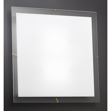 Kolarz Bianca Glass Ceiling Light Gold