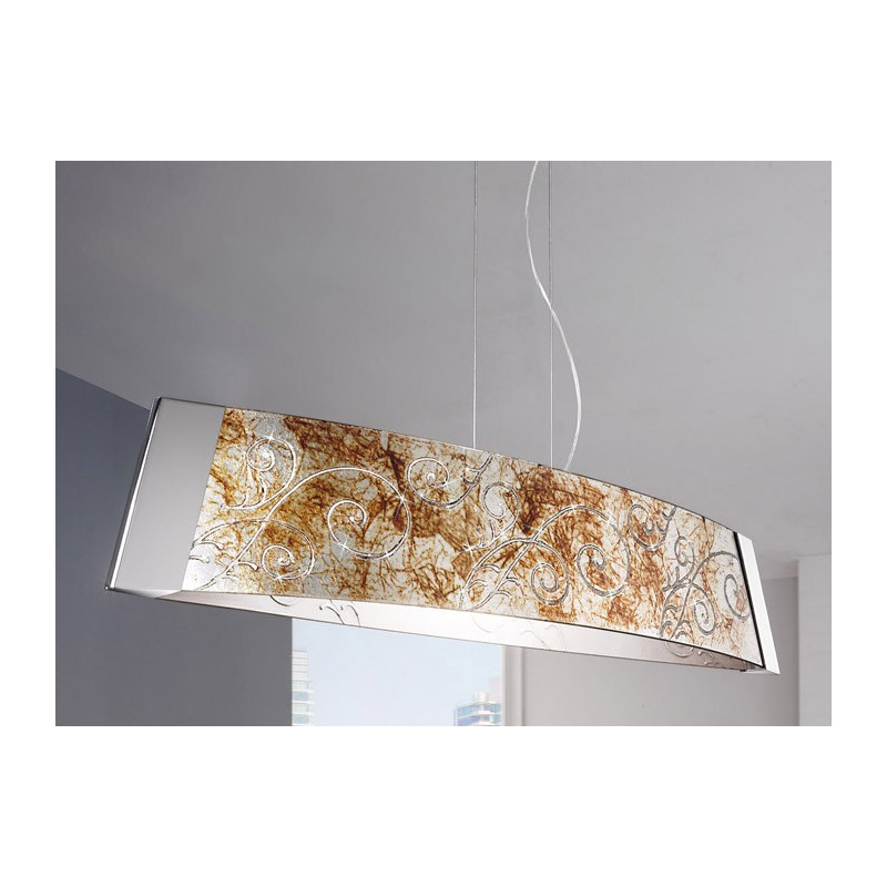 Kolarz Medici Barca Glass Hanging Light