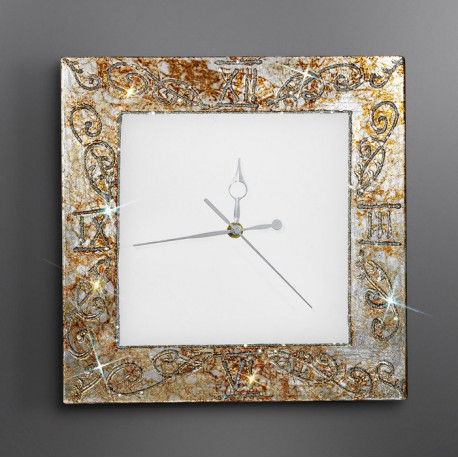 Kolarz Medici Glass Wall Clock