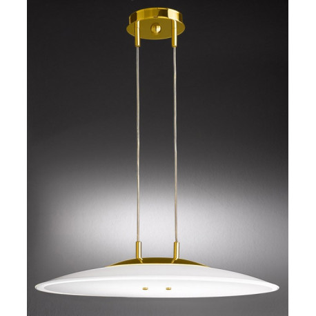 Kolarz Bianca Glass Hanging Light Gold