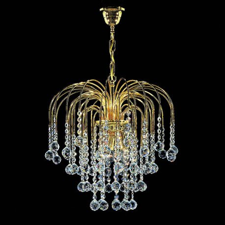Kolarz Art Deco Crystal Chandelier