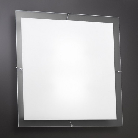 Kolarz Bianca Square Glass Ceiling Light