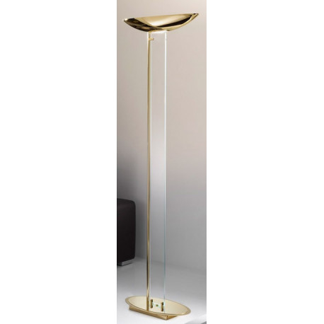 Kolarz Delphi Glass Floor Lamp Gold