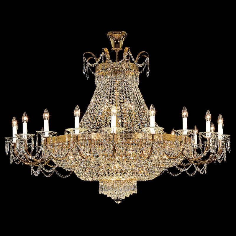 Kolarz Empire Crystal Chandelier C812 843 150 Free Delivery