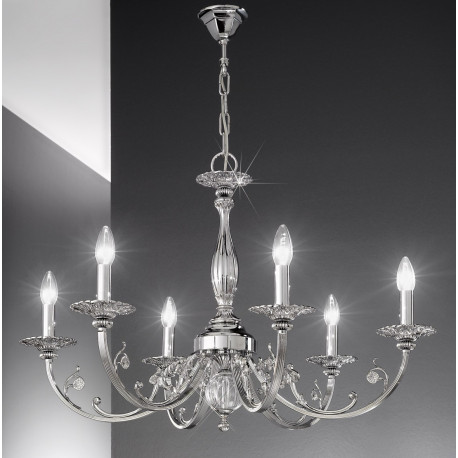 Kolarz Pisani Chandelier Chrome