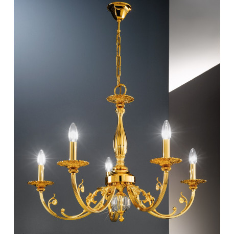 Kolarz Pisani Chandelier French Gold