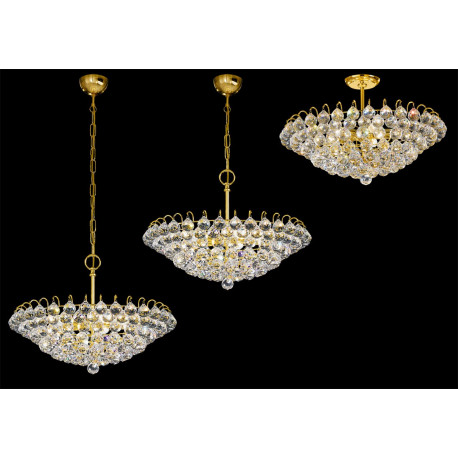 Kolarz Flavia Crystal Hanging and Ceiling Light