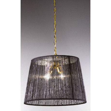 Kolarz La Fenice Hanging Light Gold and Black
