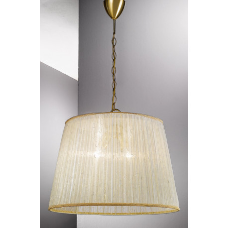 Kolarz La Fenice Hanging Light Gold and Beige
