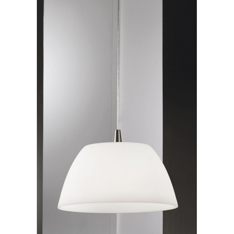 Kolarz Malmo Glass Hanging Light Nickel