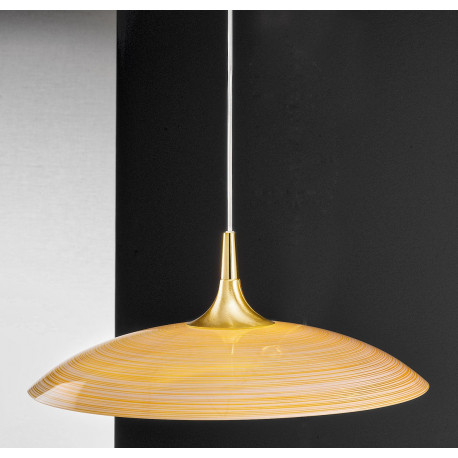 Kolarz Cristallino Glass Hanging Light Gold