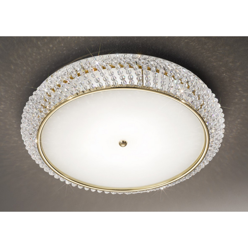 Kolarz Carla Crystal Ceiling Lamp Gold