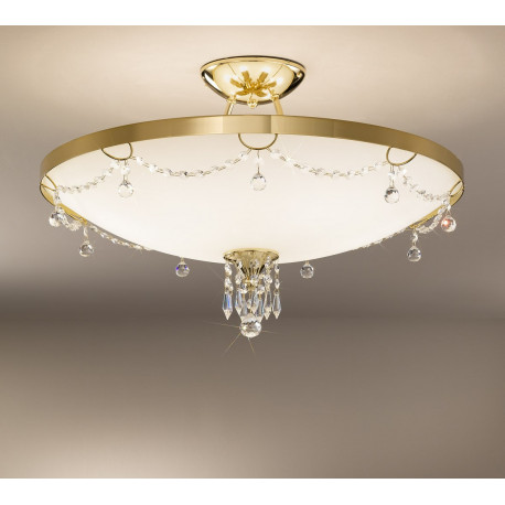 Kolarz Corona Crystal Suspended Ceiling Light