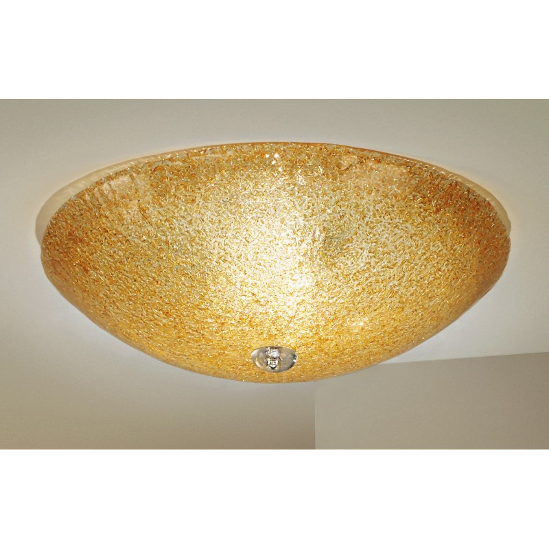 Kolarz Murano Glass Ceiling Light Amber 320 13 A Free delivery