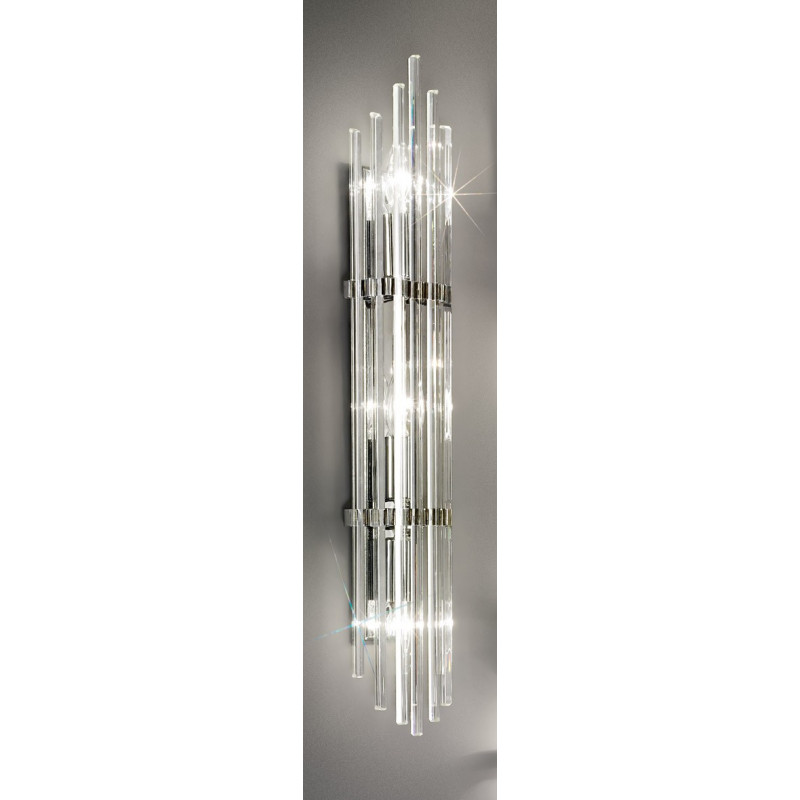 Kolarz Ontario Crystal Wall Light Chrome 0342 63 5 Free