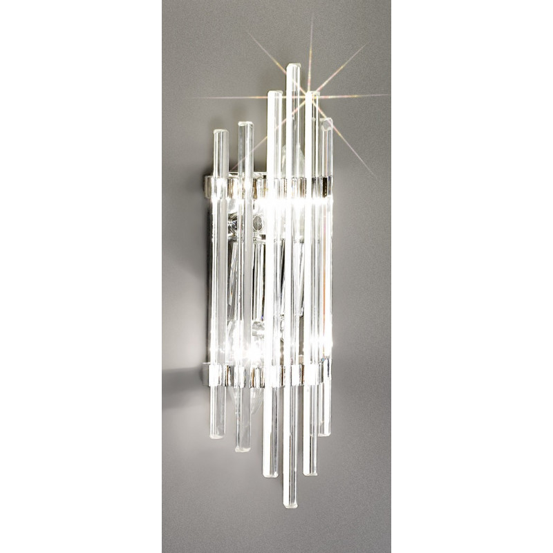 kolarz ontario crystal wall light chrome 0342 62s 5 free delivery. Black Bedroom Furniture Sets. Home Design Ideas