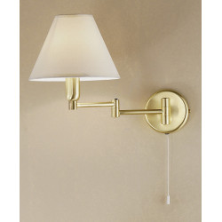 Hilton Rotatable Wall Light Brass - Kolarz Lighting