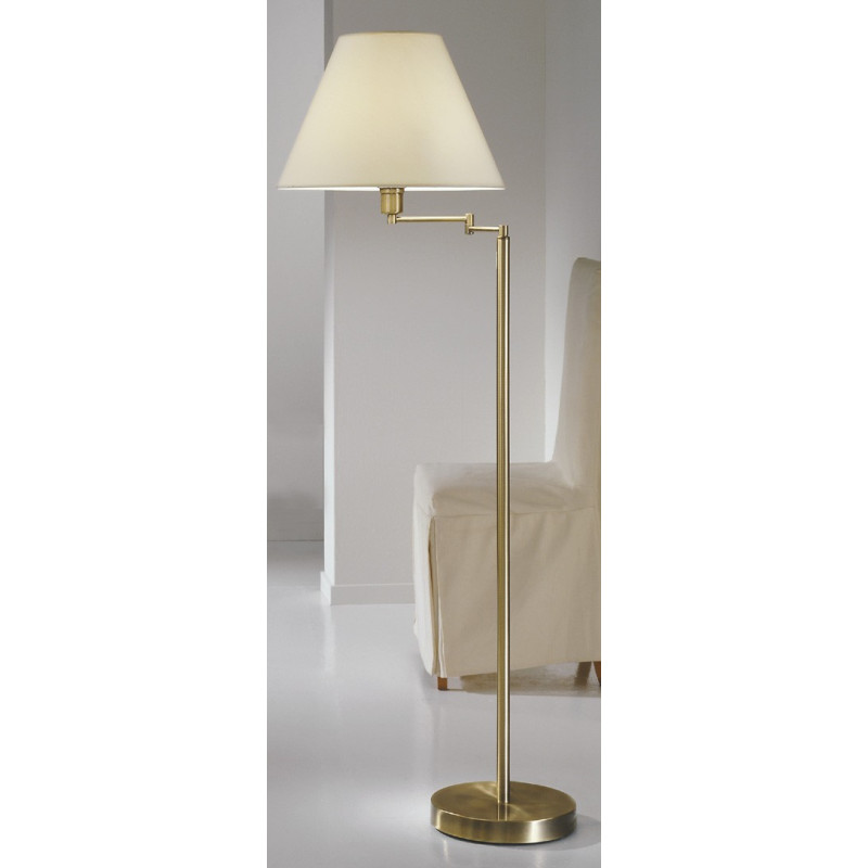 Kolarz Hilton Rotatable Floor Lamp Antique Brass