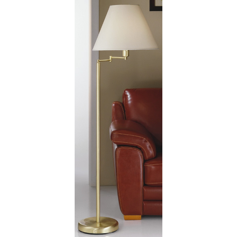 Kolarz Hilton Rotatable Floor Lamp Brass
