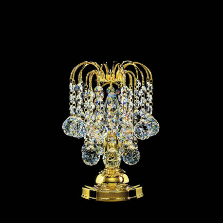 Kolarz Art Deco Crystal Table Lamp
