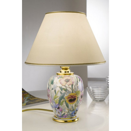Kolarz Giardino Panse Ceramic Table Lamp