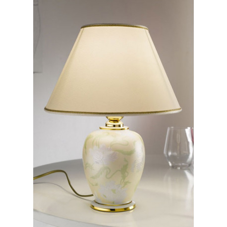 Kolarz Giardino Perla Ceramic Table Lamp
