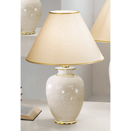 Kolarz Giardino Cracle Ceramic Table Lamp