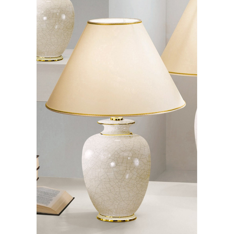 Kolarz Giardino Cracle Ceramic Table Lamp 0014 74 3 Free