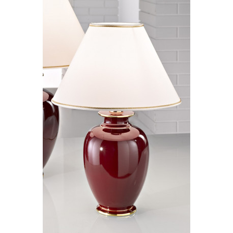 Kolarz Bordeaux Ceramic Table Lamp
