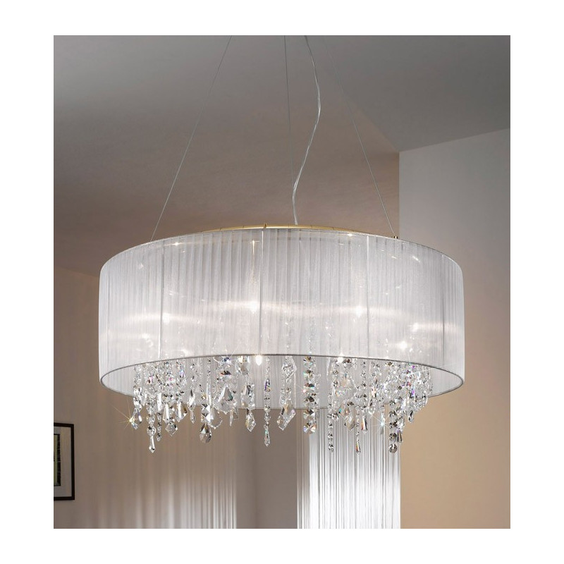 kolarz paralume crystal chandelier ceiling light white. Black Bedroom Furniture Sets. Home Design Ideas
