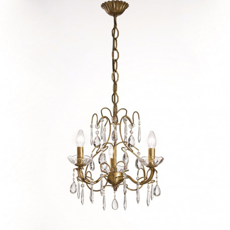 Orion Waidhofen Crystal Chandelier Antique