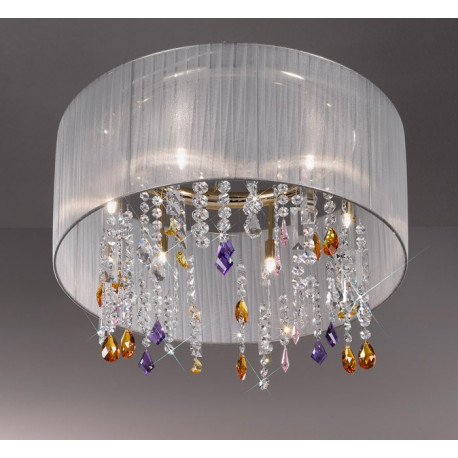 Kolarz Paralume Crystal Chandelier / Ceiling Light