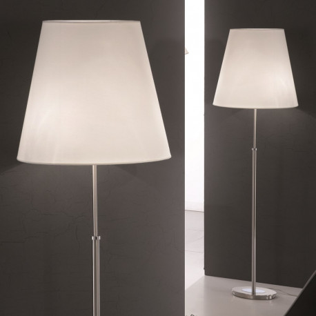 Orion Jahrbach Satin Chrome Floor Lamp