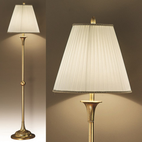 Orion Liebenau Antique Gold Floor Lamp