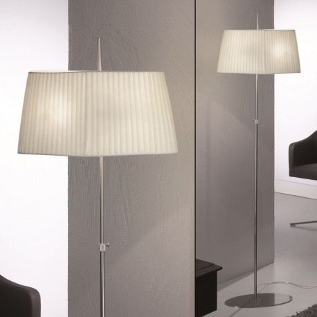 Orion Poden Satin Floor Lamp
