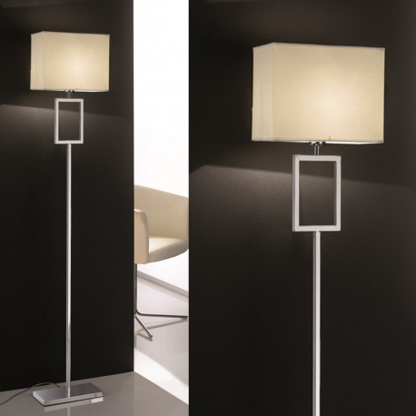 Orion Ramsau Chrome Floor Lamp