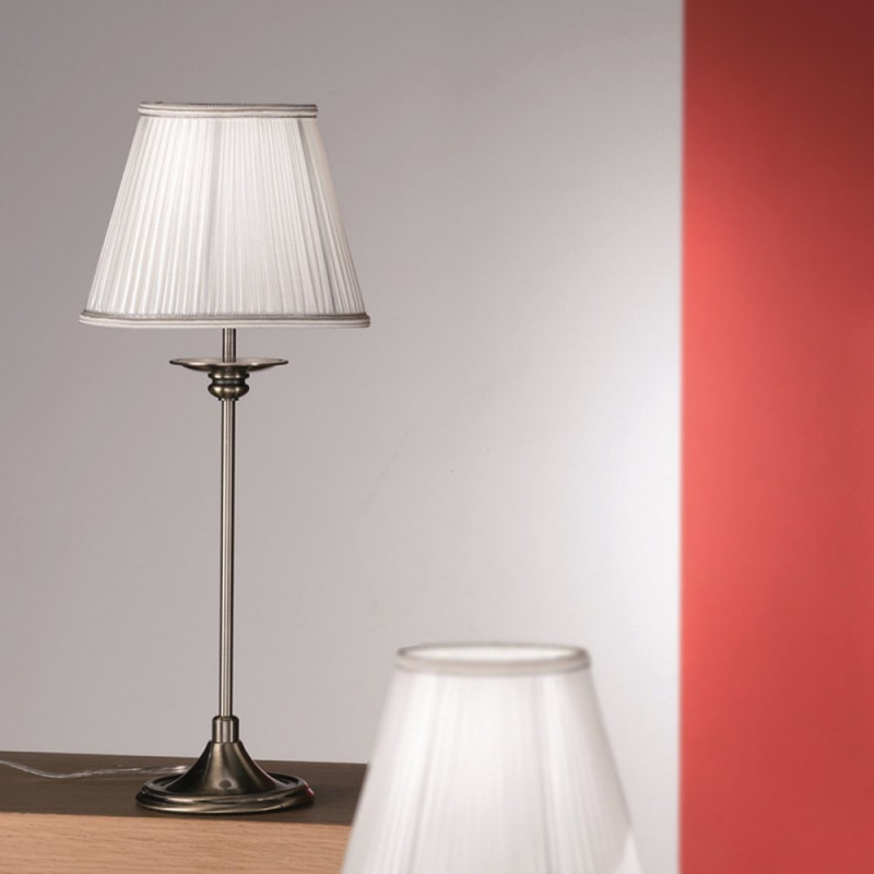 Orion Modern Table Lamp: Orion Dafins Antique Brass Table Lamp