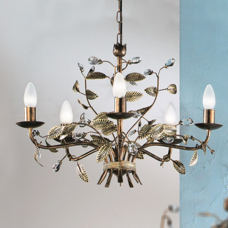 Orion Deiss Antique Chandelier