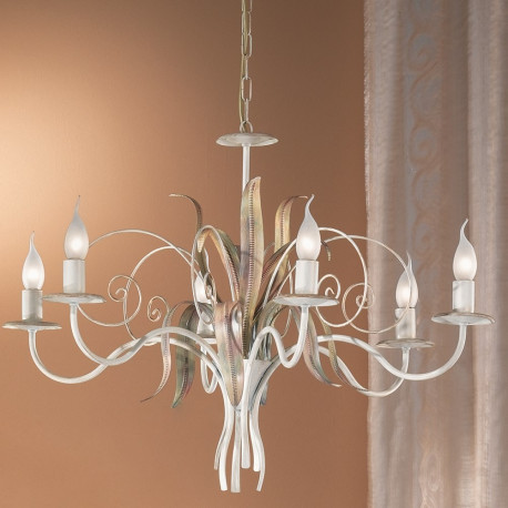 Orion Knolli Ivory Chandelier