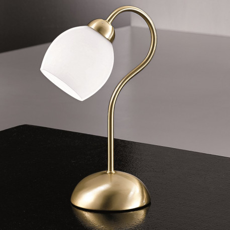 Orion Moar Satin Brass Table Lamp