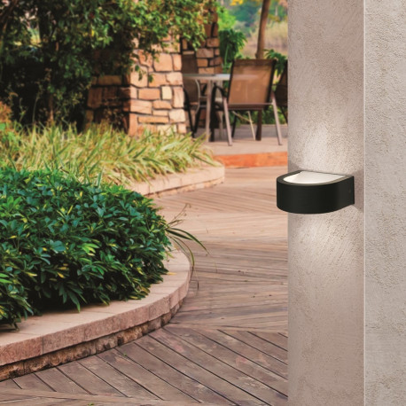 Orion Hundsdorf Anthracite Outdoor Wall Light