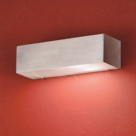 Orion Lammersdorf Stainless Steel Outdoor Wall Light