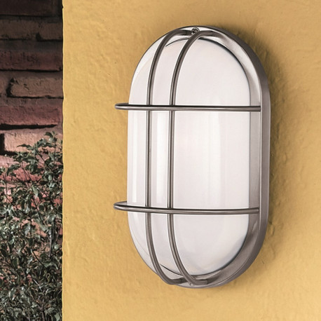 Orion Ostra Stainless Steel Outdoor Wall Light
