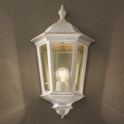 Orion Wurdach White Outdoor Wall Light