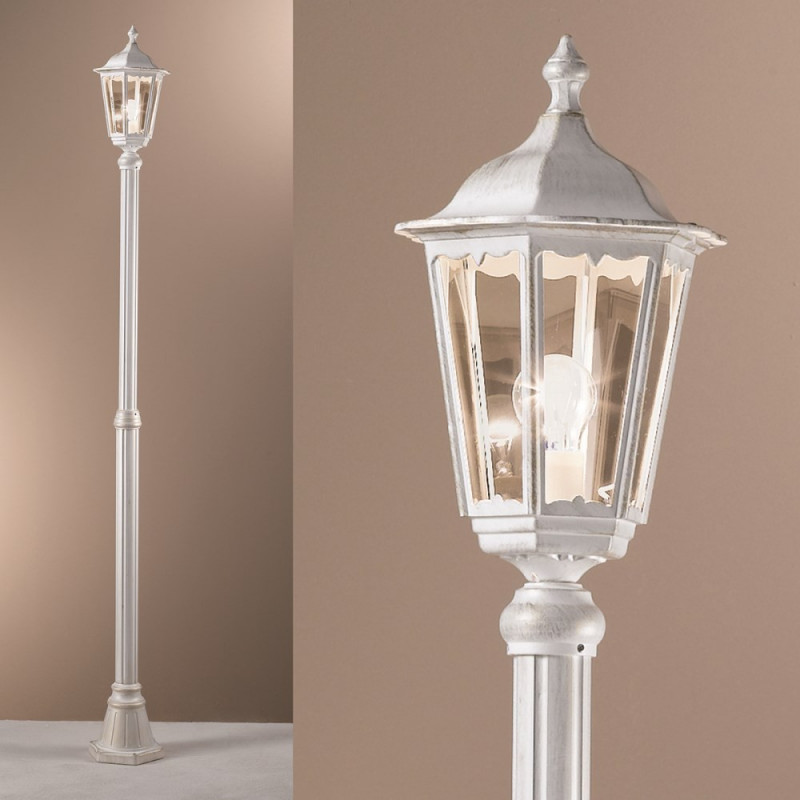 Orion wurdach white outdoor lamp post lighting deluxe orion wurdach white outdoor lamp post mozeypictures Image collections