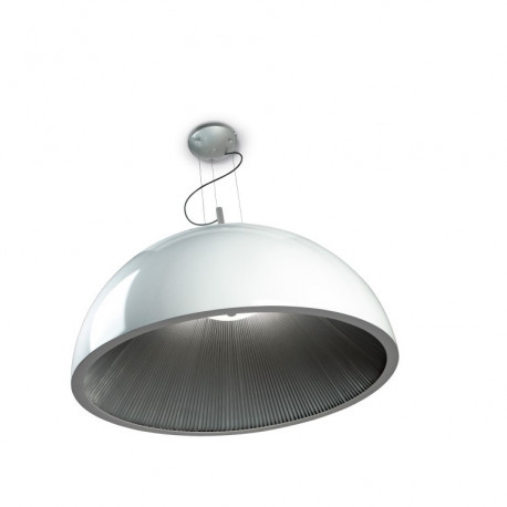 Grok Umbrella White Pendant