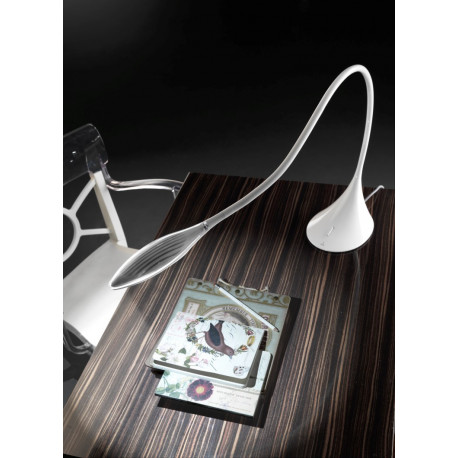 Grok Supple White Table Lamp