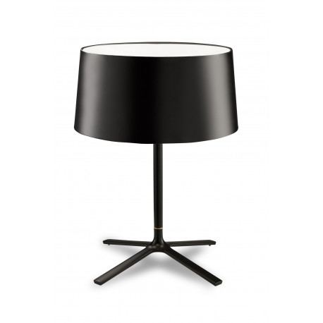 Grok Hall Black Table Lamp