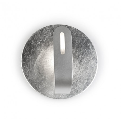 Grok Traç Silver Wall Light