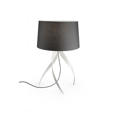 Grok Medusa Grey Table Lamp